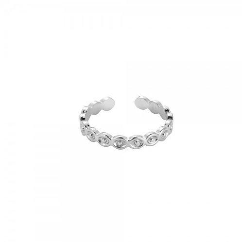 Ring 'Cambodia' zilver