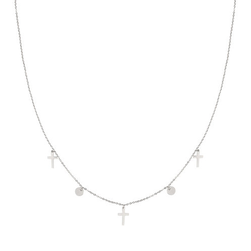 Ketting Cross and Coin