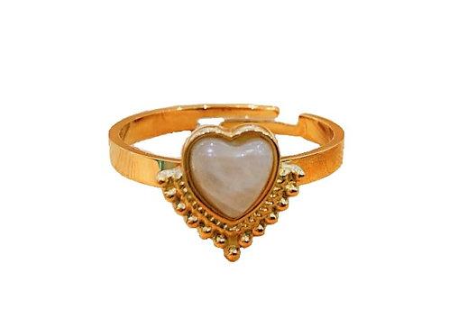 Ring 'Stupid in Love' goud