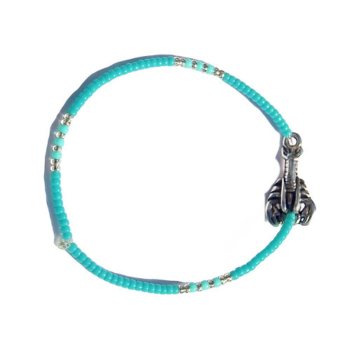 Armband 'Small Lobster' blauw