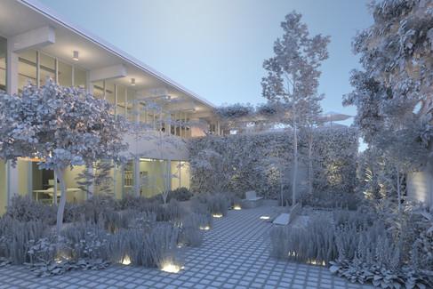 Academic Courtyard