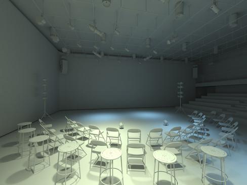 Dance School Interior