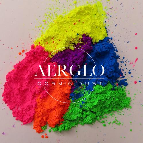 Aerglo Cosmic Dust Neon Loose Pigments