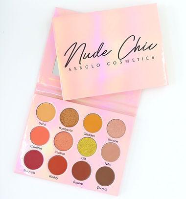 Nude Chic Eye Shadow Palette