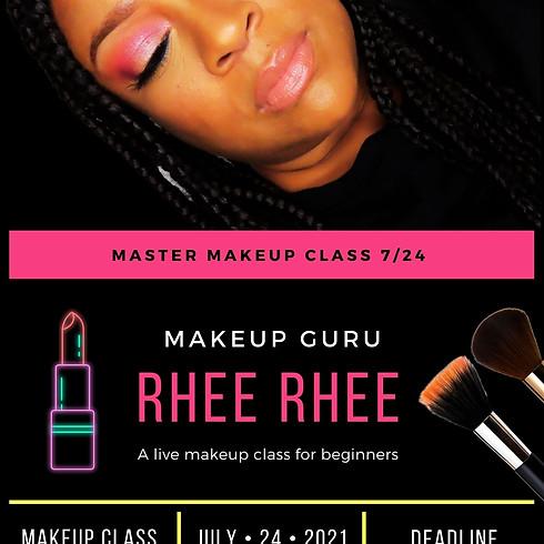 Master Makeup Class