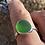 Thumbnail: Large Green Dorset Sea Glass Ring