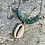 Thumbnail: Turquoise & Cowrie Necklace