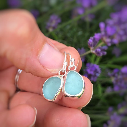 Custom Sea Glass Earrings