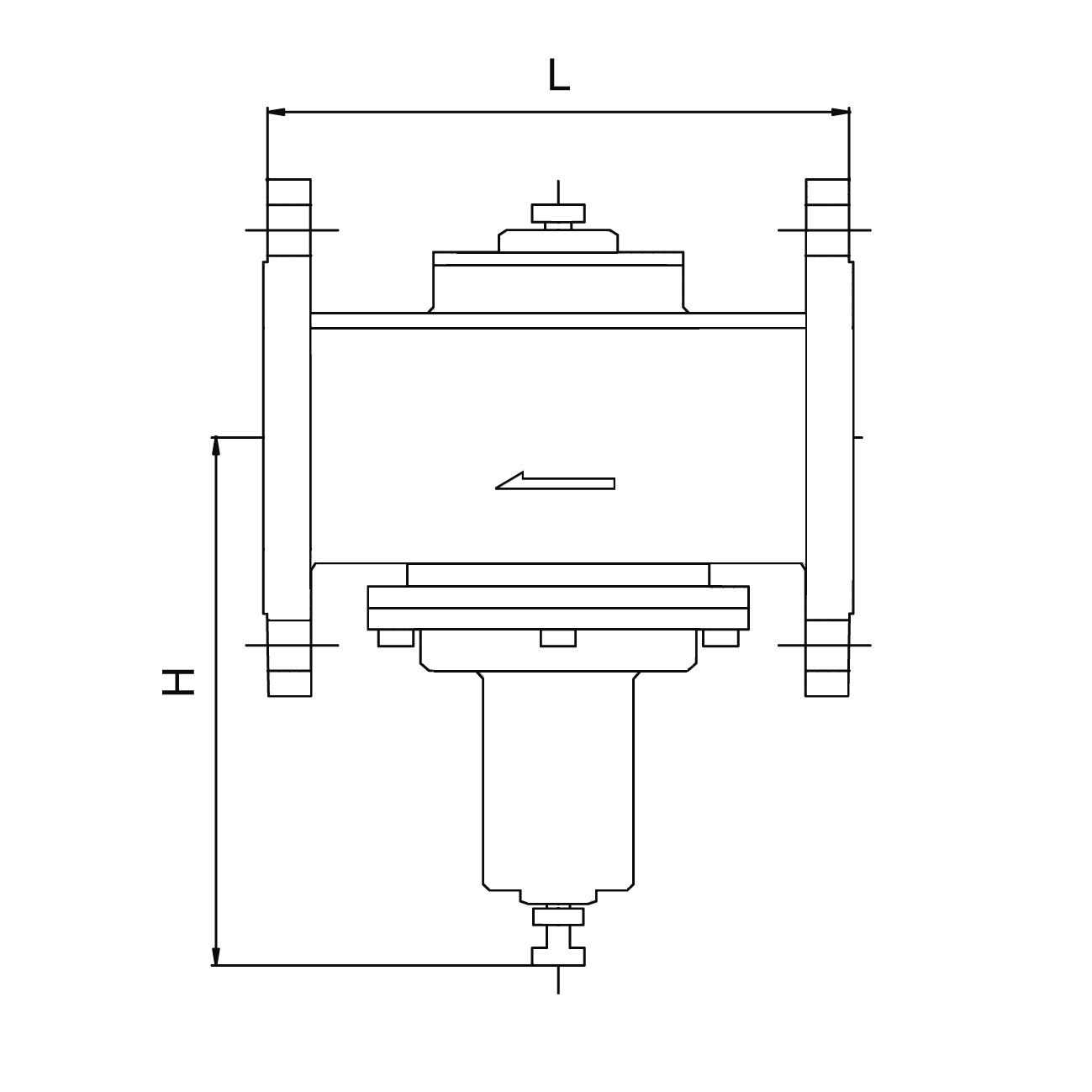 2230 flange blueprint