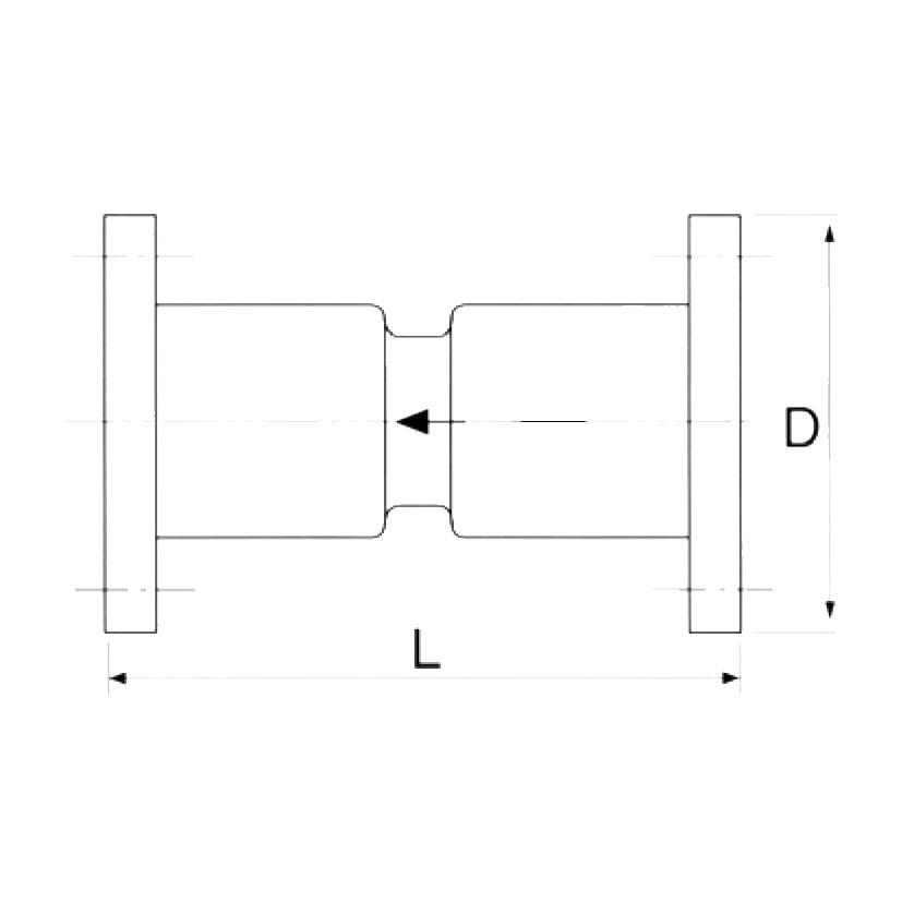 2280 - blueprint flanged