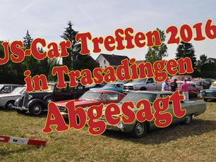 Kein US-Car Treffen im Jahr 2016 in Trasadingen
