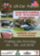 Flyer US-Car Treffen Trasaingen 2015