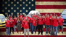 Das erste Treffen unter dem US-Car Club Cholbefrässer