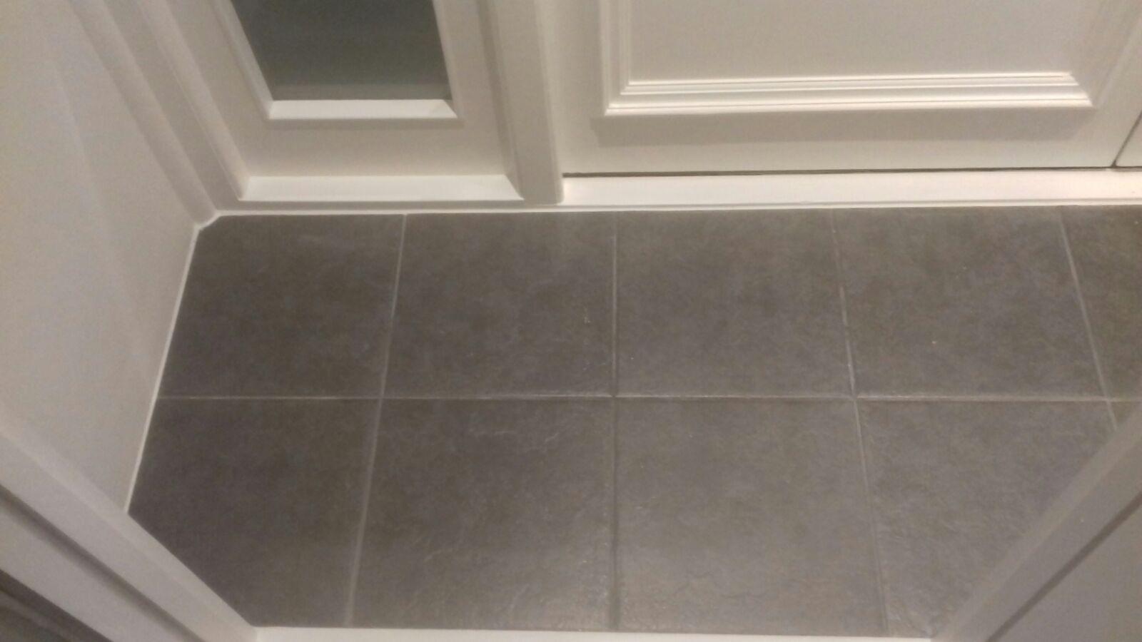 Porch tiles