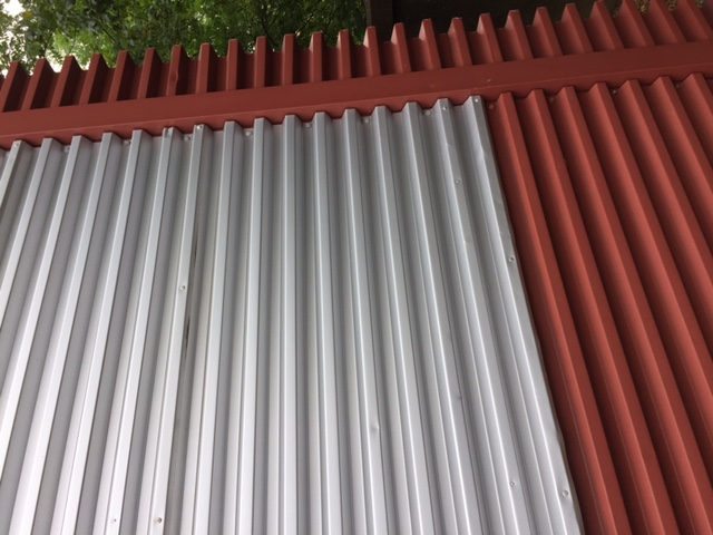 Cleaning of Cladding