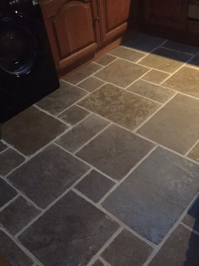 Stone kitchen tiles