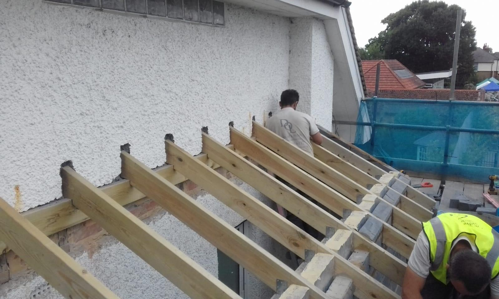 Roof - Working progress