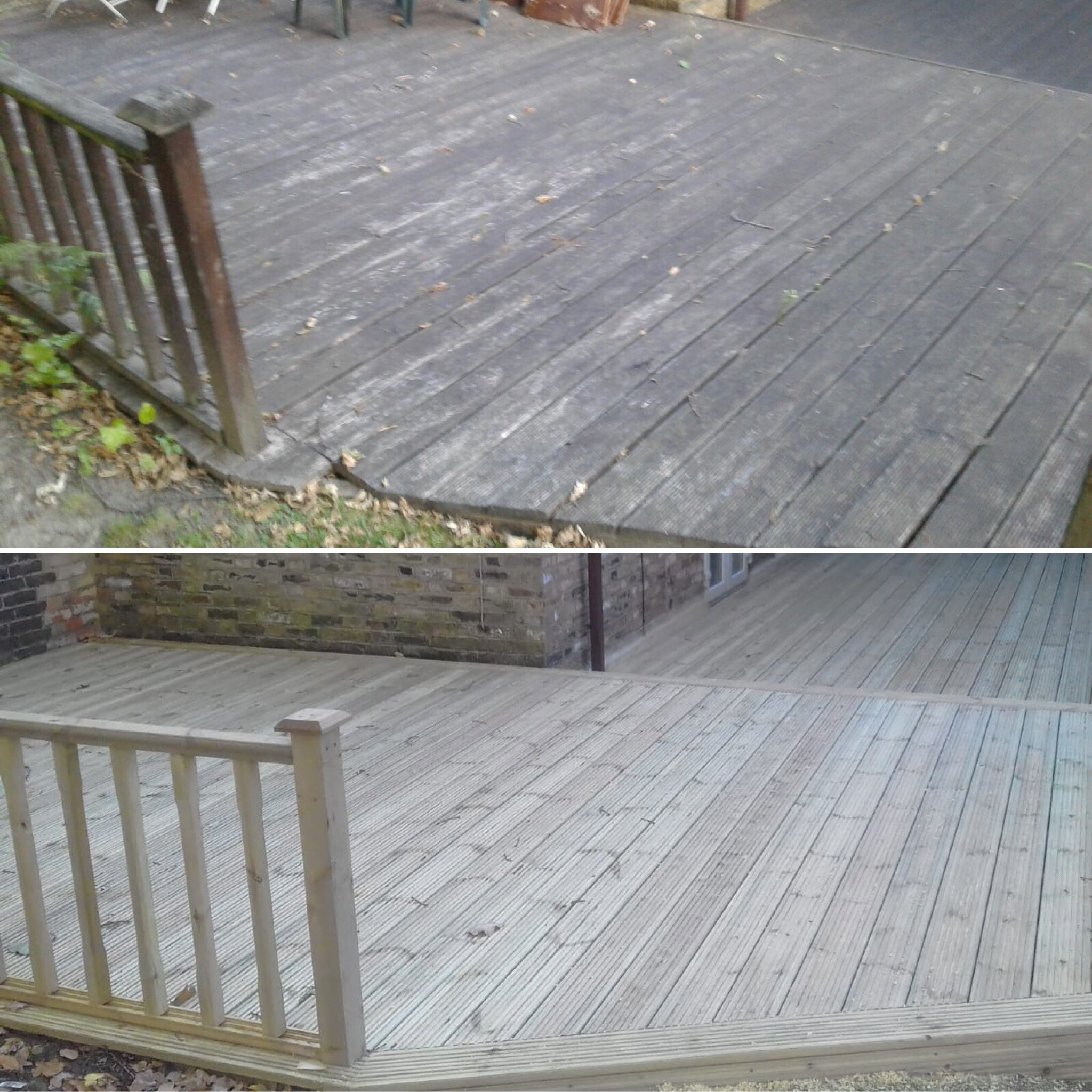 Before & After Decking 2
