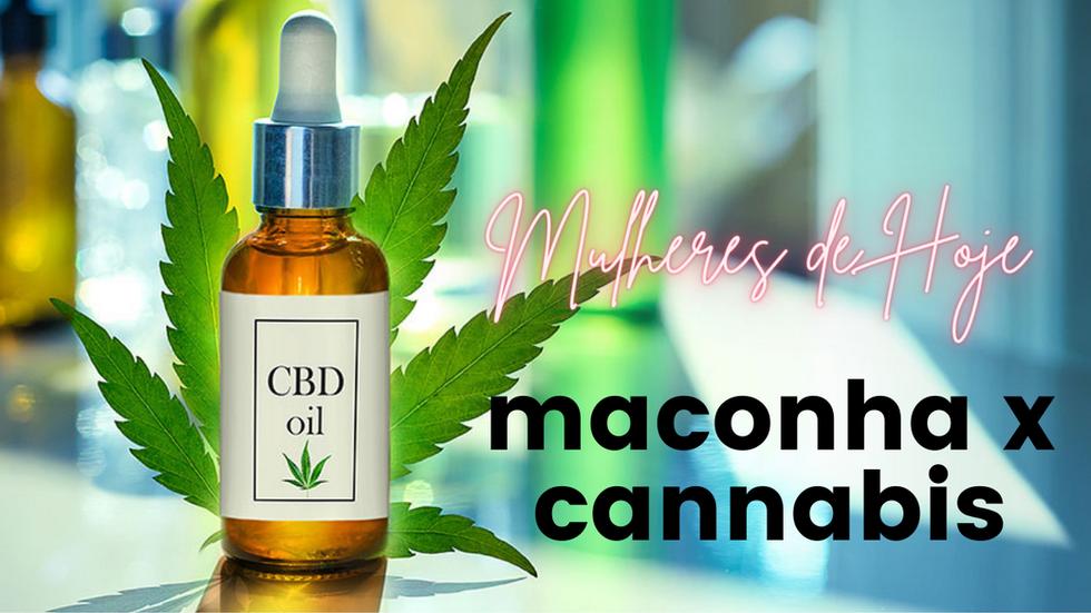 Você sabe a diferença entre maconha e cannabis ?