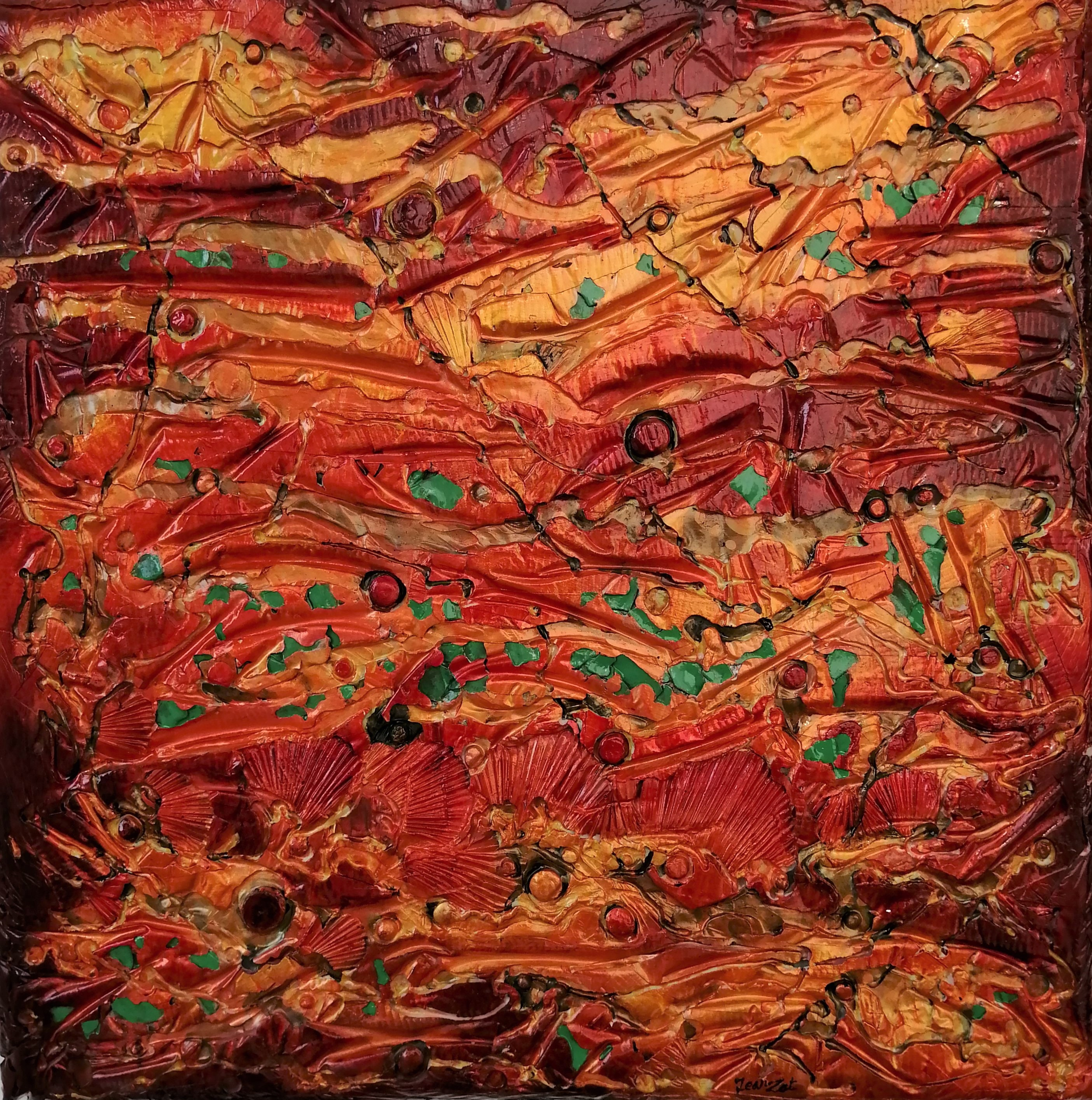 """Red Waves"""