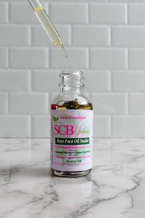 Damask Rose Face Oil Sealer