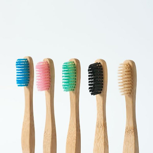 Bamboo Tooth Brush (Random Color)