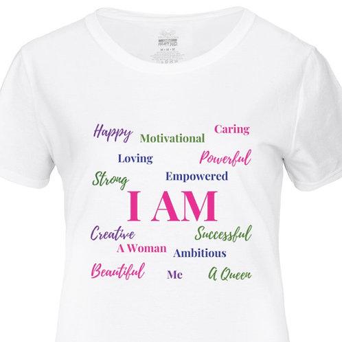 Women's (I AM) Affirmation T-shirt
