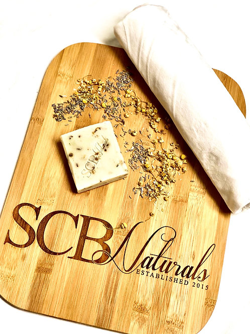 Lavender & Chamomile Herbal Soap Bar