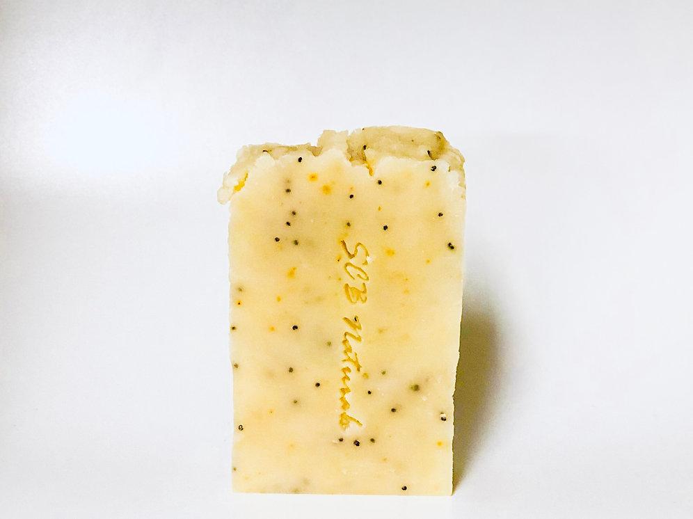 Lemon Poppy Detox & complexion Bar | scbnaturals