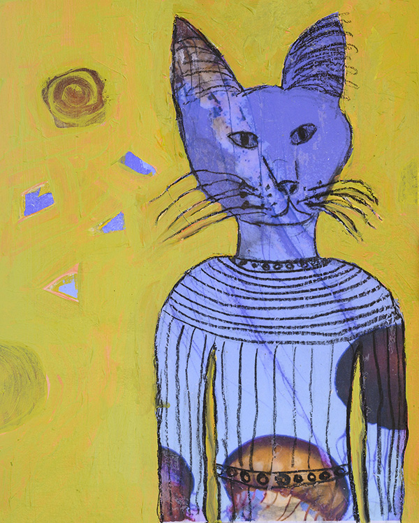 Blue Cat Spirit - sold