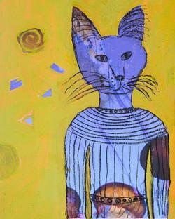Blue Cat Spirit - sold