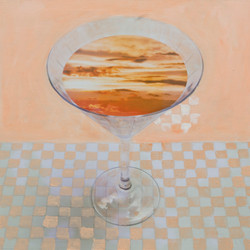 Sunset Martini - sold