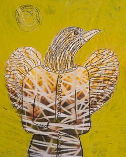 Golden Bird Spirit - sold