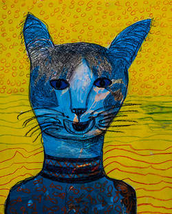 Blue Eyed Cat -sold