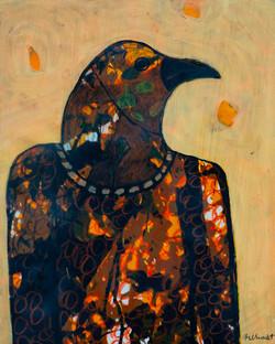 Orange Bird Spirit - sold
