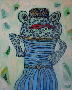 Frog Spirit - sold
