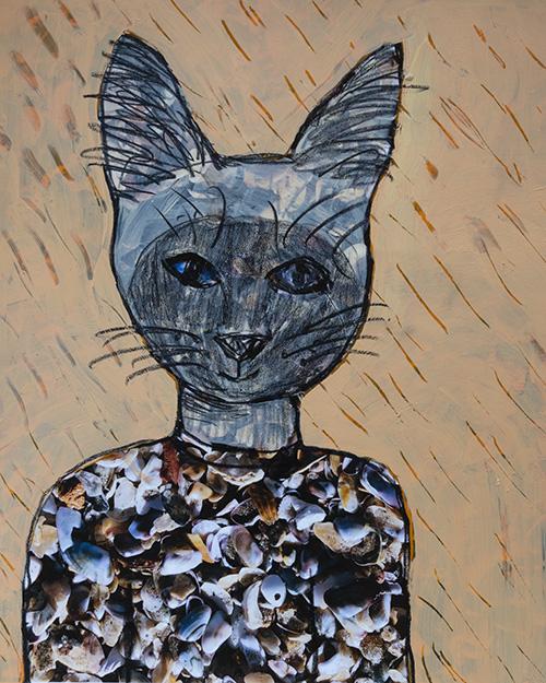 Siamese Cat Spirit - sold