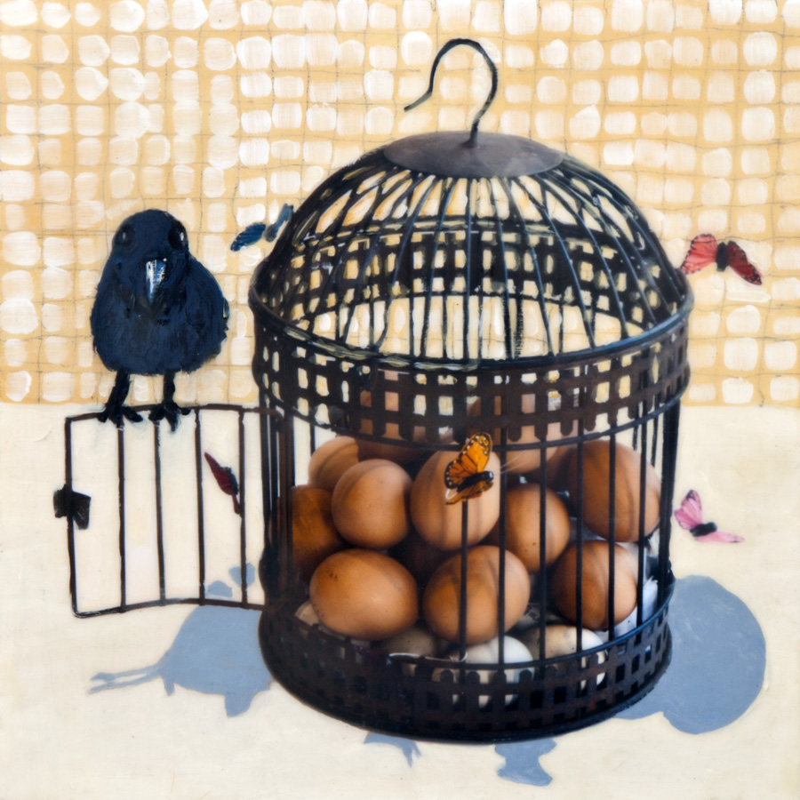 Caged Eggs - sold
