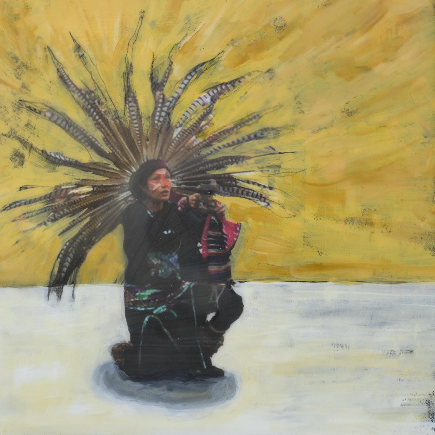 Cultural Diversity 3 - Aztec Dance - sold