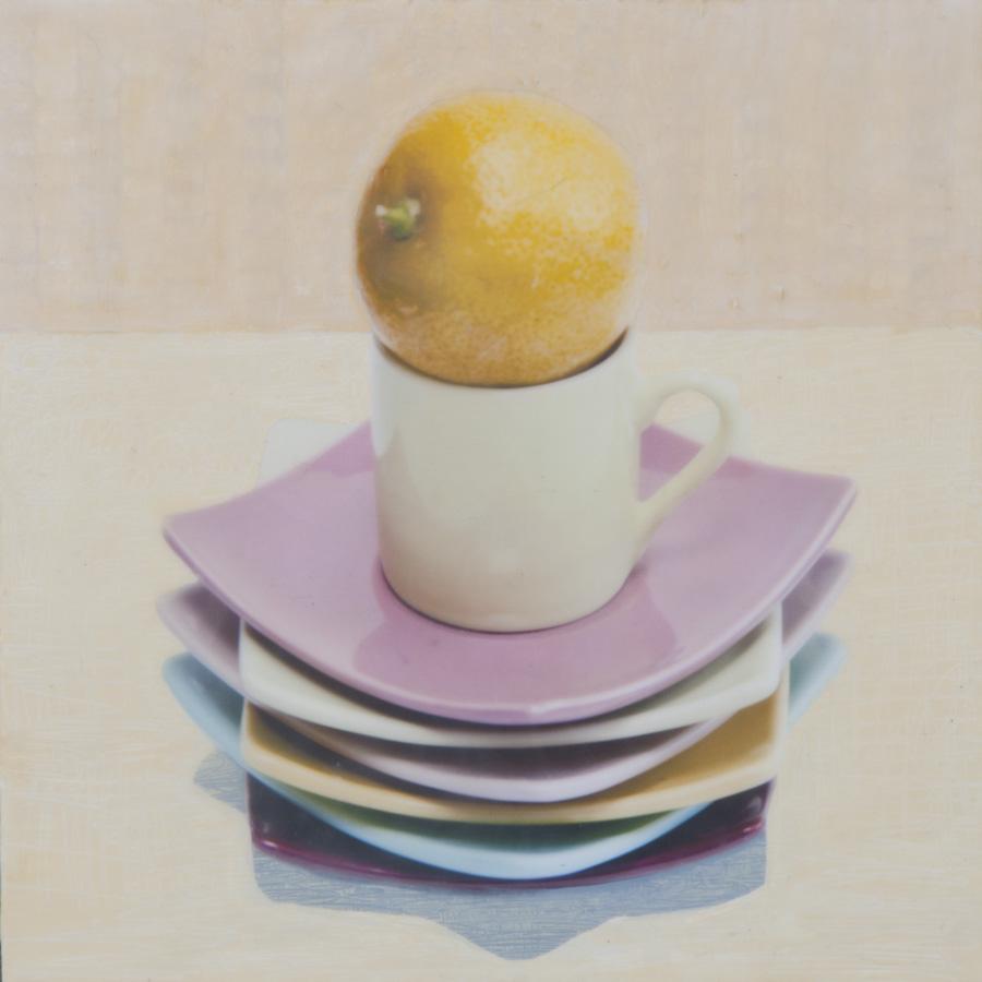 Lemon Cup Plates