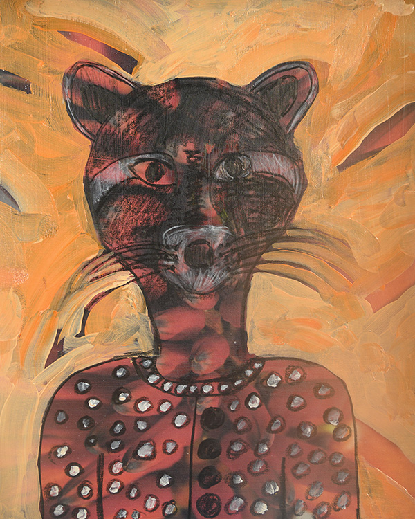 Raccoon Spirit - sold