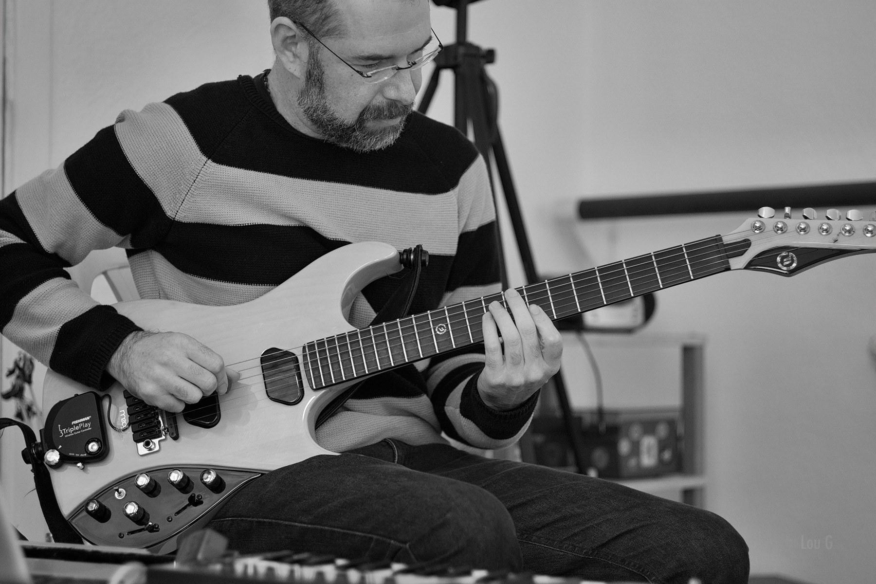 rodrigo e guitarra
