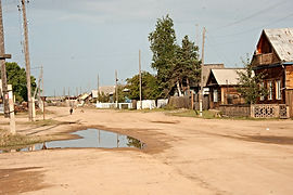 Посёлок Усть-Баргузин.