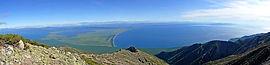 Вид с плато полуострова Святой Нос
