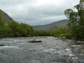 Река Сарма.