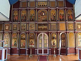 Иконостас Никольской церкви.