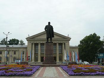 ангарск памятник ленину