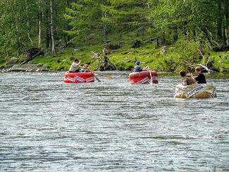 Сплав по реке бугульдейка.