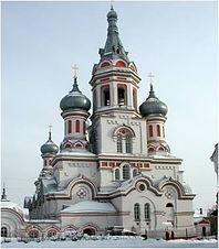 Князе-Владимирская церковь, ул. Каштаковская, 58.