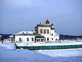 На территории Селенгинского монастыря